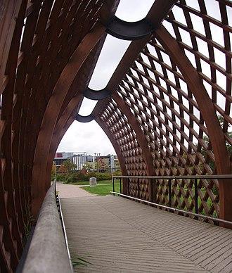 Juhani Pallasmaa - Viikki landscape bridge, Helsinki, 2002