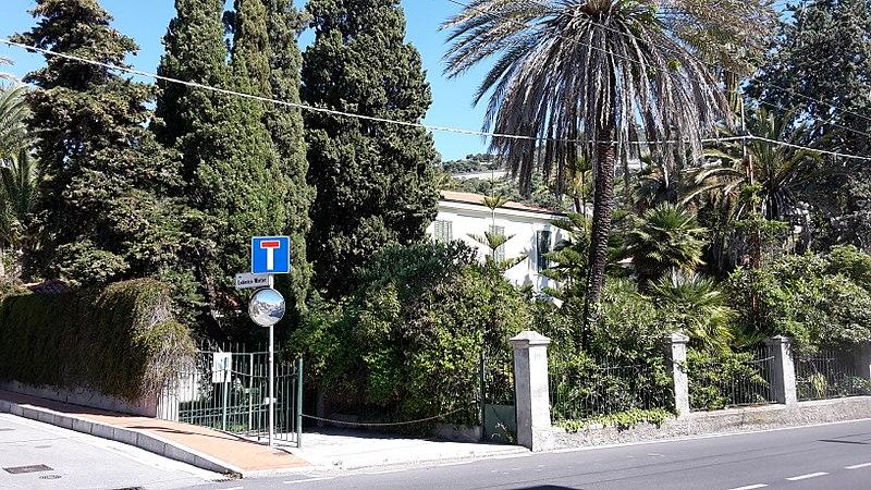 Villa Llo Di Mare A Bordighera