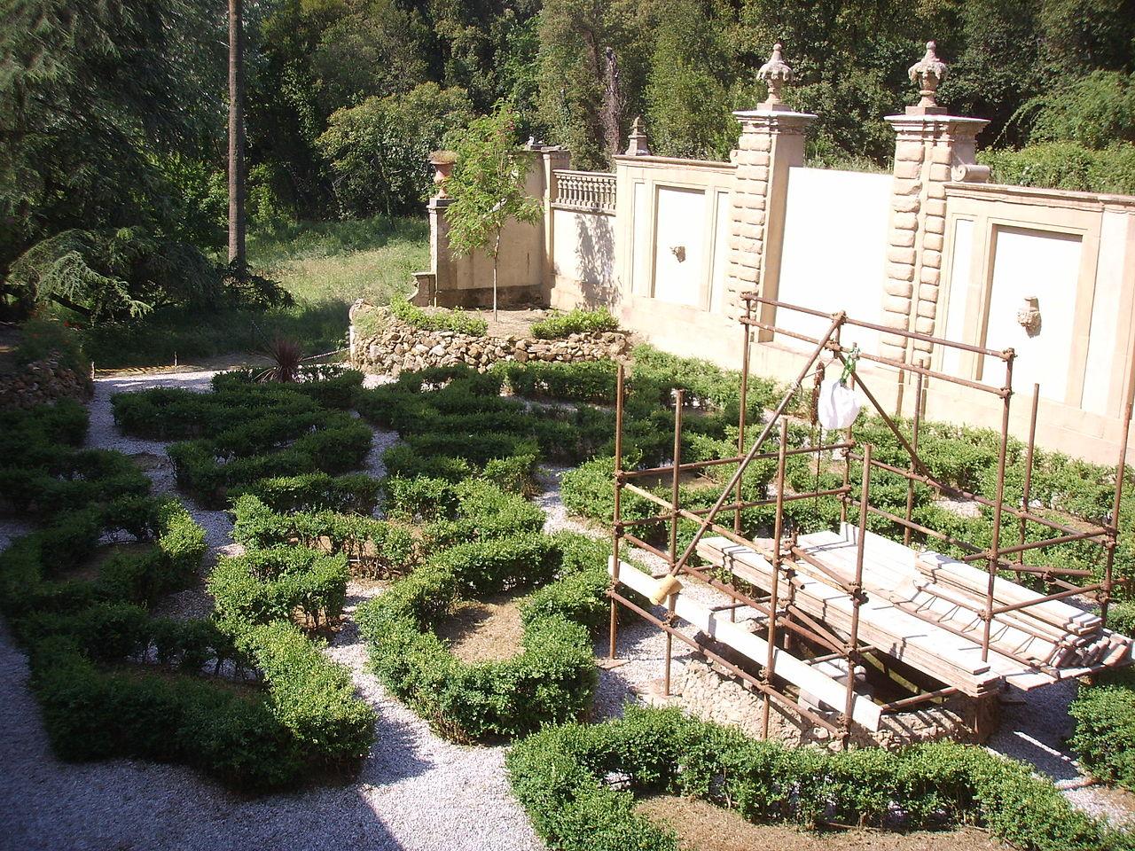File villa salviati giardino all 39 italiana jpg wikipedia - Giardino all italiana ...