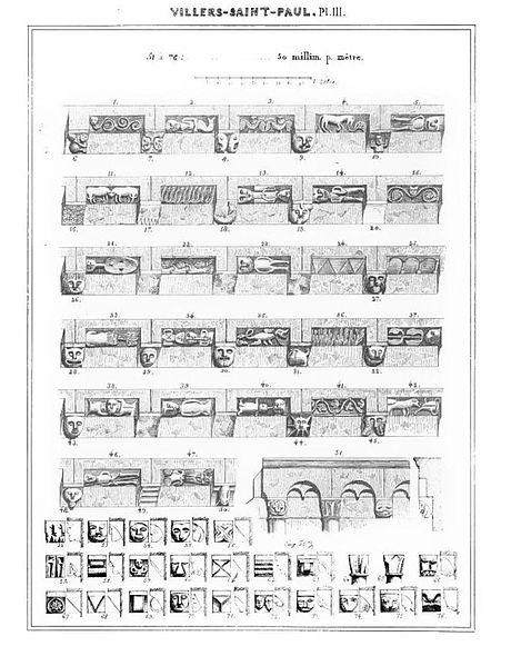fichier villers saint paul 60 glise saint pierre et saint paul woillez planche. Black Bedroom Furniture Sets. Home Design Ideas