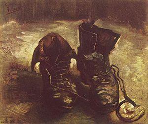 paio di scarpe van gogh