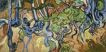 """Результаты поиска изображений для запроса """"Ван Гог корни деревьев"""""""