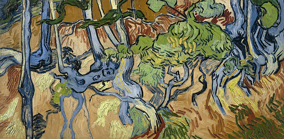 Vincent van Gogh - Tree Roots and Trunks (F816)