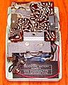 Vintage Silvertone Transistor Radio (Chassis View), Model 1206 (Ice Blue), AM Band, 6 Transistors, Made In USA, Circa 1960 - 1961 (32734799677).jpg