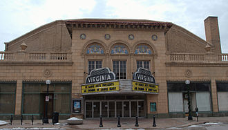 Virginia Theatre (Champaign) - Image: Virginia Theater Champaign Illinois 4142
