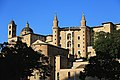 Vista frontale del Palazzo Ducale di Urbino, Marche 04.jpg