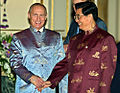 Vladimir Putin at APEC Summit in Thailand 19-21 October 2003-17.jpg