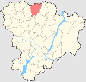 Yelansky District - Image: Volgogradskaya oblast Elansky rayon