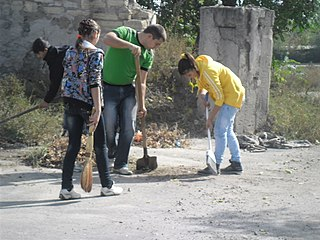 Community service Unpaid work to benefit a community