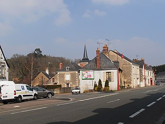 Clermont-Créans - View from the D323