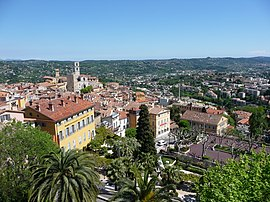 A view of Grasse