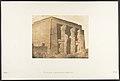 Vue de la façade du pronaos du Temple de Dakkeh (Pselcis) MET DP131948.jpg
