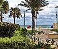 Vue sur la plage, Hollywood Beach, Florida, A look at the beach - panoramio.jpg