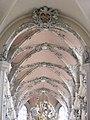 Würzburg - Augustinerkirche innen, Deckengewölbe.JPG