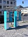 Würzburg - Kassenautomaten 33 und 161 am Schloßvorplatz.JPG