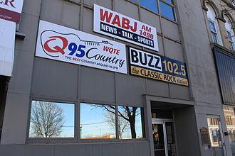 WBZV - Studio Entrance of Friends Communications of MI, Inc.