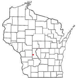 Vị trí trong Quận Juneau, Wisconsin