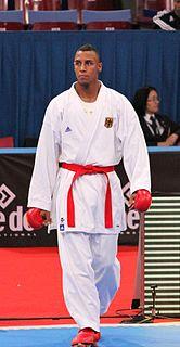 Jonathan Horne German karateka