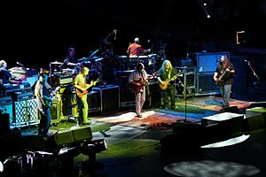 Widespread Panic - Members of the Allman Brothers join Widespread Panic on stage in Canandaigua, NY. August 22, 2009