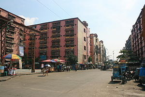 Marcos Road - Housing developments at the former Smokey Mountain landfill