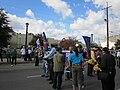 WWOZ 30th Parade Elysian Fields Lineup Banners Ready.JPG