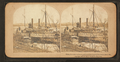 Waiting for a load of exchanged prisoners at Aiken's Landing, James River, March, 1865, from Robert N. Dennis collection of stereoscopic views.png