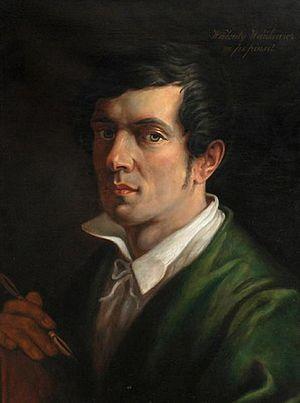 Walenty Wańkowicz - Self-portrait