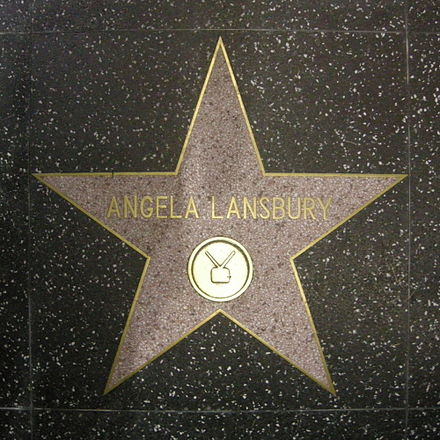 Angela Lansbury, star on the Walk of Fame Walk of fame, angela lansbury.JPG