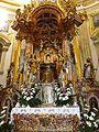 Wambierzyce, ołtarz w Sanktuarium, 09-06-2013.JPG