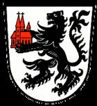 Das Wappen von Kirchberg an der Jagst