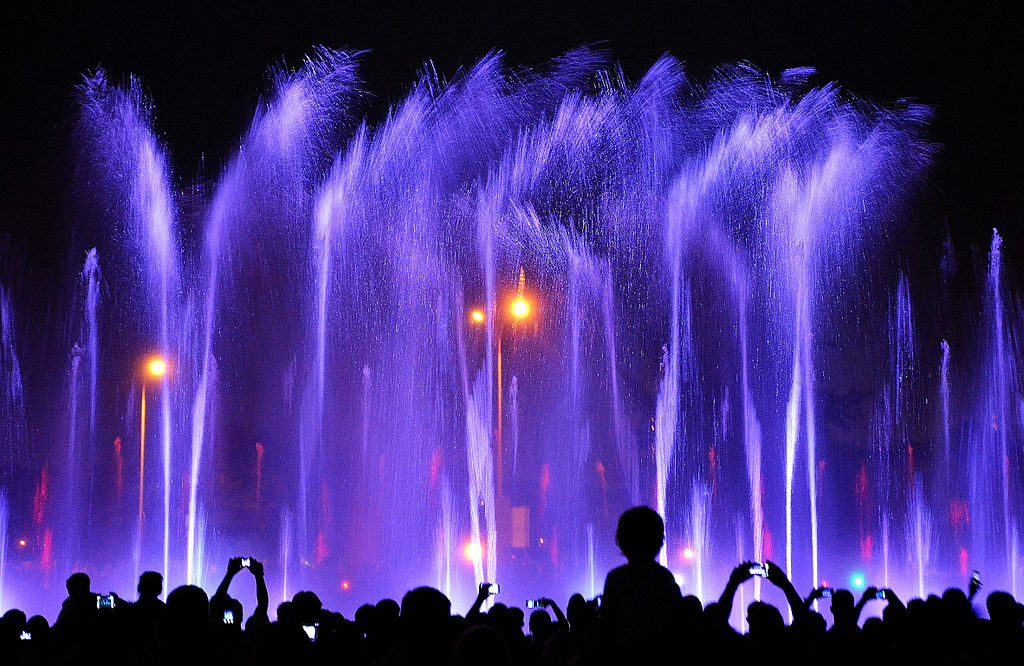 Warsaw Multimedia Fountain Park 2
