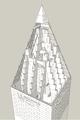 Washington Monument pyramidion rib structure.png