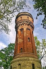 Water tower in Rybnik, Poland