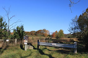 Waterloo State Recreation area Miching Markla Lake access path.JPG