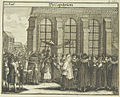 Wedding ceremony, 1724, from Juedisches Ceremoniel.jpg