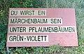 Weg in Loosdorf 356 Tafel 09 in A-2133 Loosdorf.jpg
