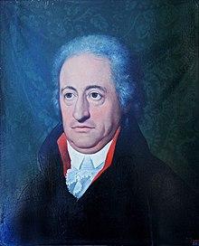 Portrait of Johann Wolfgang von Goethe by Ferdinand Jagemann, 1806 (Source: Wikimedia)