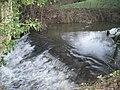 Weir in Sheinton Brook - geograph.org.uk - 628150.jpg