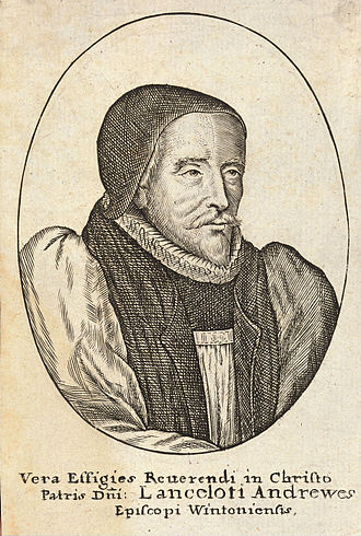 Lancelot Andrewes - Portrait of Andrewes by Hollar
