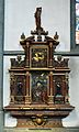 Werl, denkmalgeschützte Propsteikirche, Altar der Kalandsbrüder aus dem 17. Jahrhundert.JPG