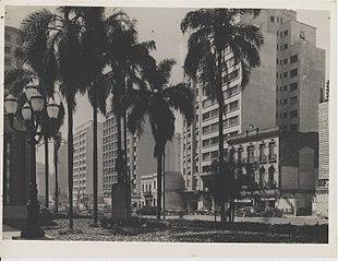 Vista parcial da Biblioteca Municipal Mário de Andrade. São Paulo/SP
