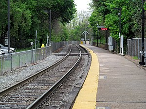 West Roxbury MBTA station.JPG
