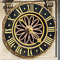 Westminster Abbey Clock - Viewed from dome on Methodist Central Hall.jpg