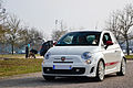 White Abarth 500 in Nancy 2013 - 01.jpg