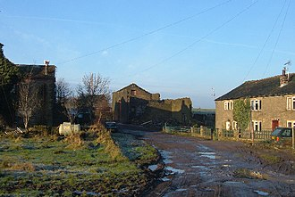 Shaw and Crompton - Whitfield: during the Middle Ages, this cluster of homesteads was owned by the Knights Hospitaller and was the largest settlement in the area.