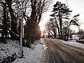Whitwell Kingates bus stop snow.JPG