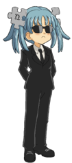 Wikipe-tan in black