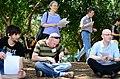 Wikipedians gathering 7950.JPG