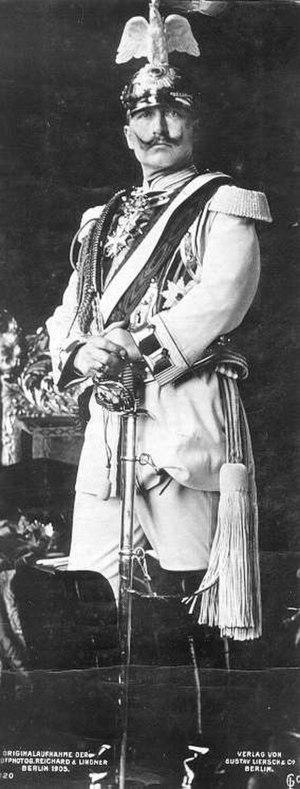 German Emperor - Wilhelm II