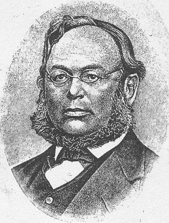 Wilhelm Klinkerfues - Wilhelm Klinkerfues in 1884